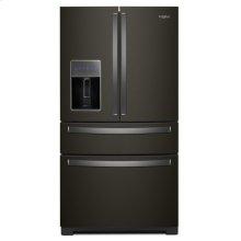 36-inch Wide 4-Door Refrigerator with Exterior Drawer - 26 cu. ft.