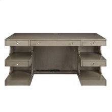 Latitude Writing Desk - Grey Birch