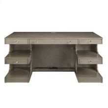 Latitude Writing Desk - Grey Birch