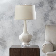 Conklin White Table Lamp