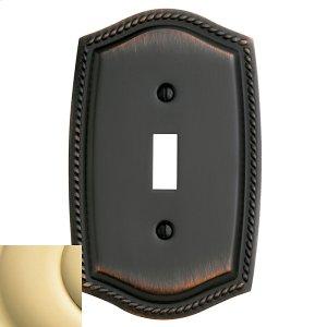 Polished Brass Rope Single Toggle Product Image