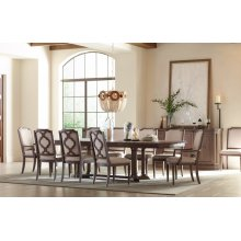Refined Rustic by Rachael Ray Complete Pedestal Table