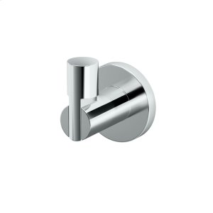 Channel Robe Hook in Chrome Product Image
