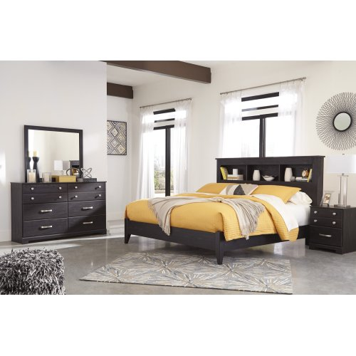 Reylow - Dark Brown 2 Piece Bed Set (King)