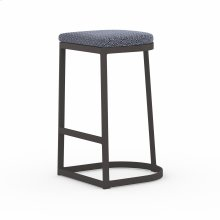 Bar Stool Size Faye Navy Cover Val Outdoor Bar + Counter Stool, Washed Brown