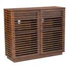 Linea Cabinet Walnut Product Image