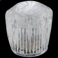Clear Knob Handle Set