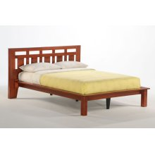 Carmel Bed in Cherry Finish