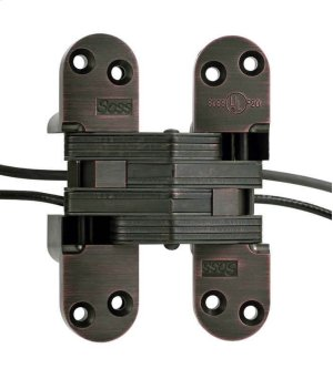 Model 220PT Power Transfer Invisible Hinge Oil Rubbed Bronze Lacquered Product Image