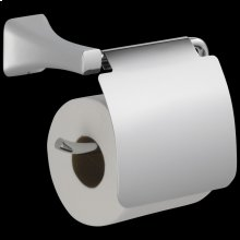 Chrome Tissue Holder with Removable Cover