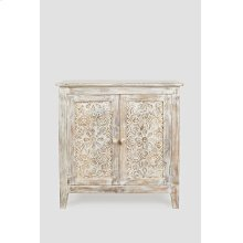 Global Archive Hand Carved Accent Chest
