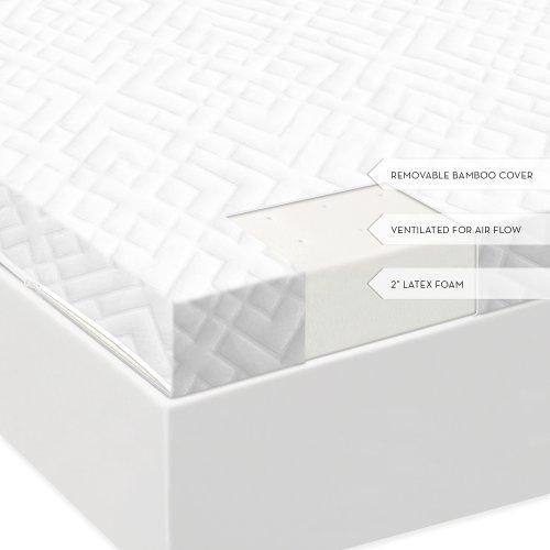 2 Inch Latex Foam Mattress Topper King