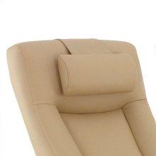 Hamar Cervical Pillow in Cobblestone Top Grain Leather