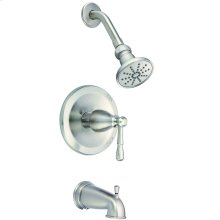 Brushed Nickel Eastham Tub & Shower Trim Kit, 1.75gpm