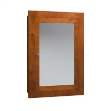 "Neo-Classic 24"" x 32"" Solid Wood Framed Medicine Cabinet in Cinnamon"