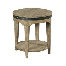 Plank Road Artisans Round End Table