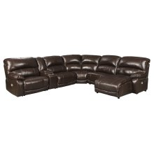 Hallstrung - Chocolate 6 Piece Sectional