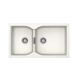 Alpina Built-in sink Supra N-175 stackpacked incl. automatic drain kit Product Image