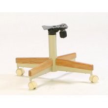Mocha/oak Tilt-swivel Chair Base 2pk