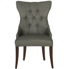 Deco Tufted Back Chair in Cocoa