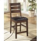 Larchmont - Burnished Dark Brown Set Of 2 Dining Room Barstools Product Image