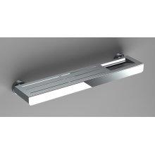 "Pol. St. Steel Metal Shelf (20"")"
