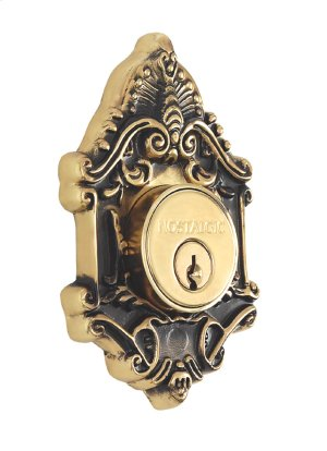 Nostalgic - Double Cylinder Deadbolt Keyed Alike - Victorian in Antique Brass Product Image