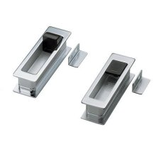 Recessed Pull for Pocket Doors