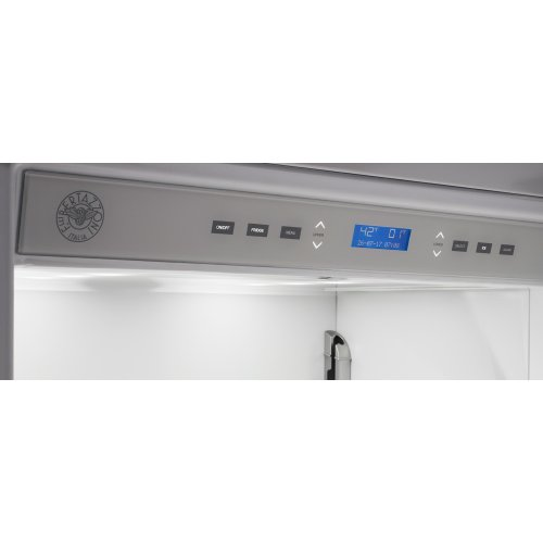 36 inch Built-In Bottom Mount Panel Ready Stainless Steel