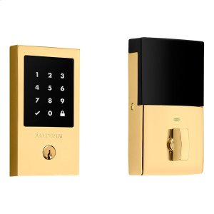 Lifetime Polished Brass Minneapolis Touchscreen Electronic Deadbolt Product Image