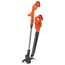 20V MAX* Lithium 10 In. String Trimmer/Edger, Hard Surface Sweeper + 2 Battery Combo Kit