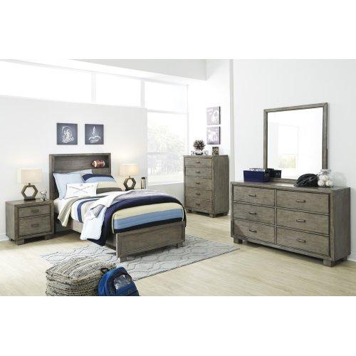 Arnett - Gray 2 Piece Bed Set (Twin)