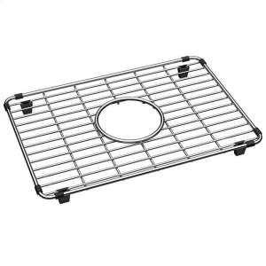"Crosstown Stainless Steel 9-7/8"" x 14-3/8"" x 1-1/4"" Bottom Grid Product Image"
