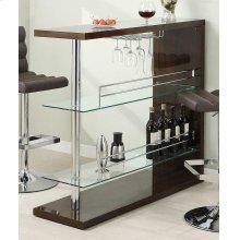 Two-shelf Contemporary Cappuccino Bar Unit
