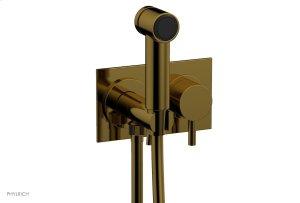 BASIC II Wall Mounted Bidet Lever Handle 230-68 - French Brass Product Image