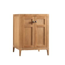 "Briella 24"" Bathroom Vanity Cabinet Base in Vintage Honey"