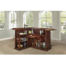 Classic Cherry Large Bar With Side Bar