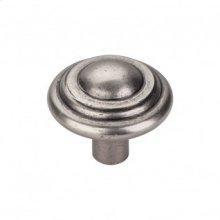 Aspen Button Knob 1 3/4 Inch - Silicon Bronze Light
