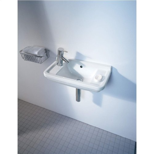 Starck 3 Handrinse Basin 1 Faucet Hole Punched