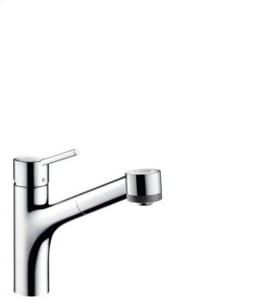 Chrome Kitchen Faucet, 2-Spray Pull-Out, 1.75 GPM Product Image