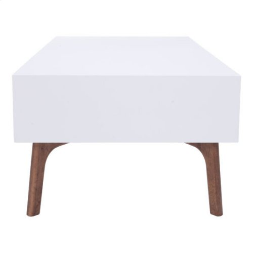 Padre Coffee Table Walnut & White