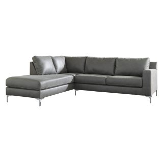 Ryler Sectional Charcoal Left