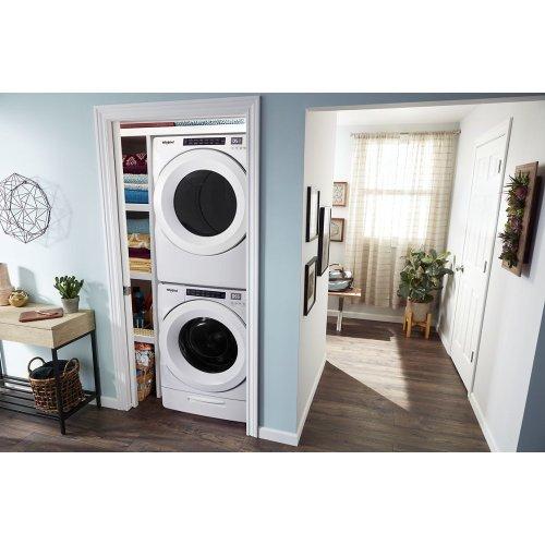 5.2 cu. ft. I.E.C. Closet-Depth Front Load Washer with Load & Go Dispenser