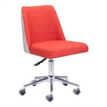 Season Office Chair Orange & Beige