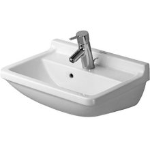 Starck 3 Washbasin 1 Faucet Hole Punched