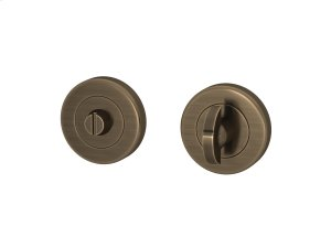 Half Moon Turn & Release Solid In Fine Antique Brass Product Image