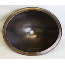 Bronze Oval Smooth