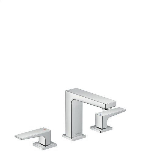 Chrome Widespread Faucet 110 with Lever Handles, 1.2 GPM