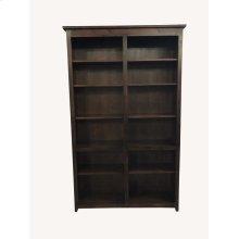 A-R4880 Rustic Alder Open Bookcase