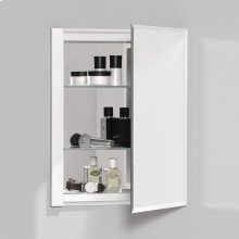 "R3 Series 16"" X 20"" X 4"" Single Door Cabinet With Bevel Edge"